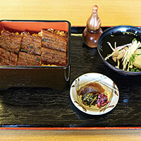 【Eel fillet and rice food box
