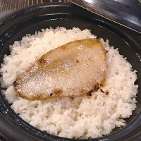 Rosy seabass rice pot (1 cup rice)