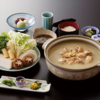 【Chicken stew and rice grown in Shiga Prefecture